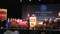 Inauguration of the Chancellor of Michelle Behr.