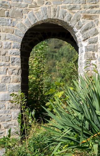 Durchgang Außenmauern 1