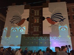 BLINK CINCINNATI 2017 (gobucks2) Tags: blink art ohio cincinnatiohio cities fall2017 birds october2017 2017 cincinnati