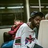 ... (Damien Manspeaker) Tags: guy bus look eyes homeless sleep sleeping caught subway downtown hollywood transit street streetphotography leica leicam8 28mm