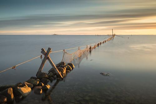 Fiskenät i Kalmarsund
