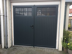 Selection of side opening garage doors from the last couple of months