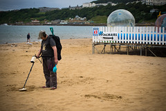 on his own (pamelaadam) Tags: 2016 digital summer engerlandshire scarborough august people lurkation sea holiday2016 fotolog thebiggestgroup