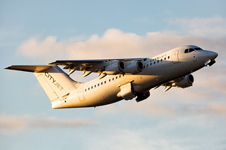 EI-RJH British Aerospace Avro RJ85 Cityjet