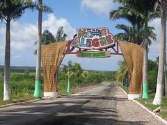 Monte Alegre - Pórtico na entrada da cidade (Sergio Falcetti) Tags: brasil cidade montealegre pórtico riograndedonorte rn viagem