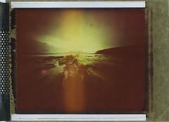 The Singing Sands (Mark Rowell) Tags: eigg singingsands rum smallisles scotland pinhole zero45 zeroimage polaroid type79 4x5 5x4 largeformat instant expired film