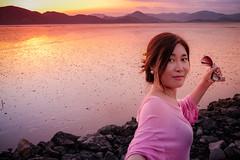 Sunset, Waon Beach (koribrus) Tags: koribrus 23mm sunset bay south korea fujifilm x100t suncheon ocean digital photography fuji photograph xseries kori brus lightroom fujix100t southkorea