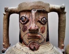 Large pottery jug, Apa Thomas Monastery, Wadi Sarga, Asyut, Egypt, c700 CE (edk7) Tags: olympuspenliteepl5 edk7 2016 uk england london londonwc1 londonboroughofcamden bloomsbury britishmuseum sculpture art largepotteryjug apathomasmonastery wadisargamonasteryasyutgovernorateegyptc700ce lateantiquitylykopolis restored