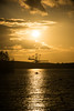 Iron Evening (Jakend) Tags: sunset sun iron yellow evening leipzig lake baggersee paddel canoo kanu sky water ttrollo ph landscape nikon d3300
