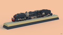 LEGO Rhodesian Garratt locomotive (MiracIe_Boy) Tags: lego train garratt locomotive rhodesia steam