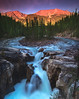 Sunwapta Falls (Cale Best Photography) Tags: sunwapta sunwaptafalls nature landscape jasper jaspernationalpark waterfalls waterfall longexposure sunset color colour alberta