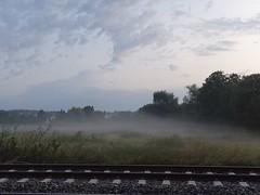 """Der Nebel. Die Nebel. Im Herbst ist es morgens oft neblig. Man nennt diesen Nebel Frühnebel. Im Vordergrund sind Gleise zu sehen. • <a style=""""font-size:0.8em;"""" href=""""http://www.flickr.com/photos/42554185@N00/37707640221/"""" target=""""_blank"""">View on Flickr</a>"""