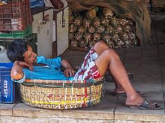 Mumbai 2015 (hunbille) Tags: india mumbai bombay birgittemumbai2lr crawford market crawfordmarket victorian historic bazaar mahatma jyotiba phule mandi mahatmajyotibaphulemandi fruit poultry sleeping resting nap