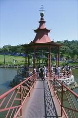 (ritzx) Tags: vsco eden nature bridge ponte natureza green light verde luz lake rio lago