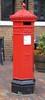 VR Post Box, Gloucester, GL1. (piktaker) Tags: post mail royalmail postoffice letters letterbox gloucestershire gloucester penfold gl1 vrpostbox