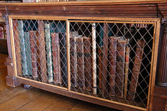 Something that e-books cannot do (Can Pac Swire) Tags: hatfield house manor stately home hertfordshire england english great britain british uk unitedkingdom building jacobean architecture al9 interior inside 17th c 1600s 2016aimg1725 library book books bookcase antique antiques collection