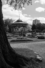 Halifax Public Gardens (ewan.osullivan) Tags: bw canada halifax novascotia halifaxpublicgardens bandstand blackandwhite monochrome park