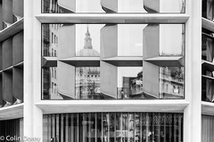 City of London  -6 29102017-Edit.jpg (Colin Dorey) Tags: reflection window stpauls cathedral bw blackandwhite monochrome blackwhite architecture london bank cityoflondon building structure queenvictoriastreet poultry autumn 2017 october bloomberg bloomberglondon architect foster normanfoster lordnormanfoster fosterpartners