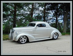 Silver Streak (novice09) Tags: backtothefifties carshow chevrolet 1937 coupe hotrod streetrod ipiccy