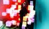 colour confusion (Dena Dana) Tags: box ambient cube denadana fantasy intense light secondlife virtual corridor hallway floating surreal mask blindfold