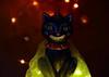 Beware Of Smiling Faces ! (Caroline.32) Tags: macro macromondays halloween cat statue smiling nikond3200 18140mmlens extensiontube12mm