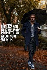 The less you talk the more people think about your words (motivirus) Tags: motivation motivational selfmotivation inspire inspiring inspirational success
