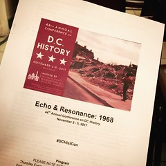 What a #historygeek does on their day off (learn about the place where the future was born) #instaDC #DC #FutureStartsHere #DCHistCon #dc1968