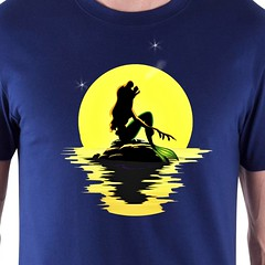 The Little Merwolf (sherwoodscot) Tags: thelittlemerwolf thelittlemermaid disney werewolf mermaid princess disneyprincess sherwoodscot scottsherwood tshirtdesign tshirt parody funny funnytshirt sea moon howl moonlight ariel fairytale graphicdesign