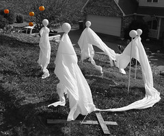 Ghost Squad (Damian J Hickey) Tags: autumn ghost spooky halloween