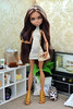 New OOAK doll - Kim 👄 (dasha.savitskaya13) Tags: monster high monsterhigh beautiful nice bomb ooak doll dolls dress fashion favorite collection clawdeen wolf kim gold brown blue blond black green orange lovely girl instagirl