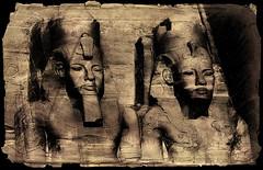 (2619) Abu Simbel (Egypt) (QuimG) Tags: abusimbel egypt egipto egipte art architecture arquitectura retoc retoque retouch textures quimg quimgranell joaquimgranell
