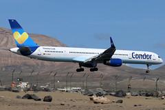 D-ABOA_01 (GH@BHD) Tags: daboa boeing 757 757300 b757 b753 de cfg condor condorflugdienst ace gcrr arrecifeairport arrecife lanzarote airliner aircraft aviation