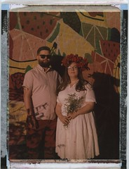 Lovers (Dear Deer Fine Art) Tags: polaroid instant film expired largeformat