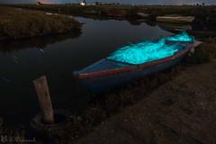 Olla de cols (E.Domènech) Tags: a7rii sel2470gm manfrotto barca puerto longexposure deltadelebre largaexposicion nocturna lightpainting