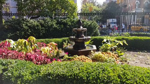 Church garden.