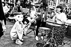 Rockin Bunny (Victor Borst) Tags: street streetphotography streetlife reallife real realpeople asia asian asians faces face candid travel travelling trip traffic traveling urban urbanroots urbanjungle blackandwhite bw mono monotone monochrome city cityscape citylife japan japanese girls ladies women fun beautiful rocknroll rock rockstar shibuyacrossing