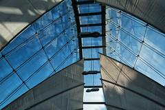 Alpine House (Francis Mansell) Tags: alpinehouse glasshouse greenhouse daviesalpinehouse kewgardens kew royalbotanicgardenskew blind sky structure architecture building glass reflection