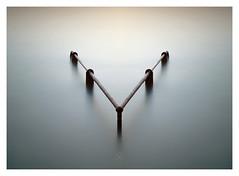 Y (picturedevon.co.uk) Tags: plymouthhoe devon uk fineart le longexposure minimal sea water seascape colour blue rusty coast seaside canon coastline calm sunset wwwpicturedevon mirror