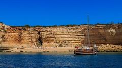 Praia do Pontal (grzegorzmielczarek) Tags: strand beach praia algarve boattrip portugal praiadopontal porches faro pt