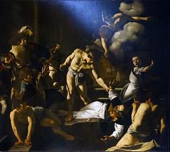 Caravaggio, Martyrdom of St. Matthew