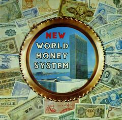 New World Money System (Jim Ed Blanchard) Tags: lp album record vintage cover sleeve jacket vinyl weird funny strange kooky ugly thrift store novelty kitsch awkward new world money system willard antelon un united nations denominations bills