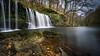 Sgwd Ddwli Uchaf (Darryl Hughes) Tags: green autumn sgwd ddwli uchafupper gushing falls uchaf wales waterfall orange
