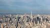 Smoggy NYC (Elyssa Drivas) Tags: newyork newyorkcity nyc manhattan midtown empirestatebuilding 432park sky skyscrapers skyline skyscraper curbed gothamist oneworldtrade oneworldtradecenter observatorydeck deck high clouds