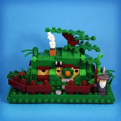 LOTR-Hobbit (ze.captain.chris) Tags: lego afol lotr hobbit miniscale