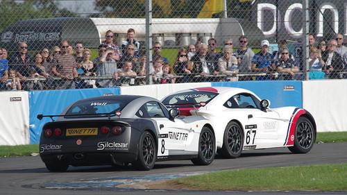 Ginetta GRDC+ at British GT Championship 2017 Donington Park - John Wall / Graeme Bishopp