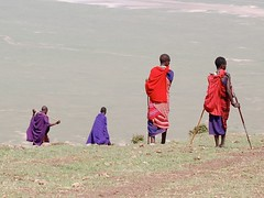 Magical Places and Things - The Rift Valley (3) (The Spirit of the World ( On and Off)) Tags: maasai men warriors canyon valley theriftvalley high steep locals tribe height descent colorful tanzania eastafrica africa landscape