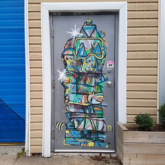 2309 Maynard, Halifax (Exile on Ontario St) Tags: halifax northend door porte urban street art urbain north end novascotia doors portes mural murals thecoast