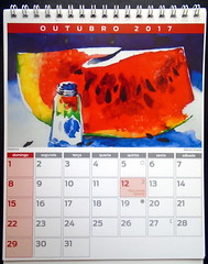 Calendário de aquarelas 2017. mod. 04 - DSC01554 (Dona Minúcia) Tags: art painting watercolor calendar 2017 stilllife arte pintura aquarela calendário naturezaimóvel naturezamorta