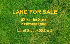 52 Fairlie Street, Kellyville Ridge NSW