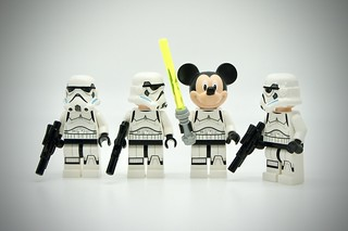 LEGO Stormtrooper Mickey Mouse